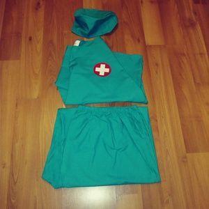 3 Piece Surgeon Costume with Accessories